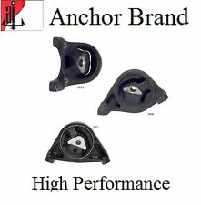 3 PCS Motor & Trans. Mount For 1999-2004 Jeep Grand Cherokee 4.7L AWD