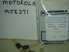 25) MJE371 Motorola Transistors in Original Packaging GOLD Original NOS