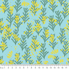 Outback Beauty: Wattle Dance Sky - 50 cms x 110 cms - 100% Cotton