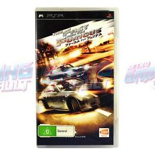 The Fast and The Furious - Ultra RARE (Tested!) Playstation Portable PSP PAL