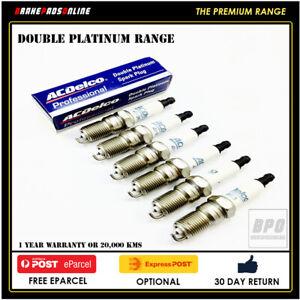 Spark Plug 6 Pack for Mazda Eunos 800 TA 2.5L 6 CYL KLZE 6/96-6/05 41806