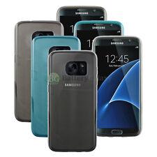 Lot of 3 Black/Blue/Clear Genuine Soft Slim Case Skin for Samsung Galaxy S7 Edge