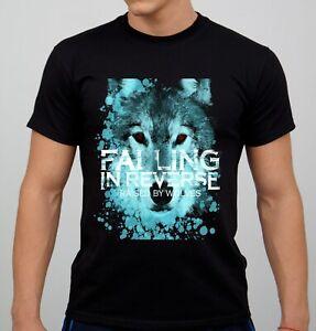 Falling in Reverse  Black Men/'s Round Neck T-shirt New