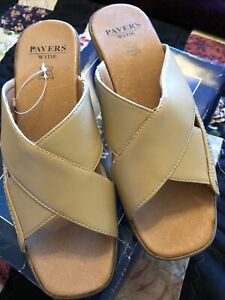 Pavers Size 7 Brand New In Box Gorgeous Summer Slip On Sandal Top Quakity !!