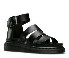 Dr Martens Black Brando Leather Womens Sandals Size UK 9 EU 43