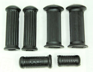 Gummiset BSA M20 M21 M33 54-62 rubber footrest kicker 29-7551 29-3250 29-7583