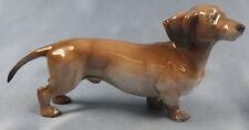 Dackel Porzellanfigur  dachshund figur  porzellanhund Rosenthal 1957