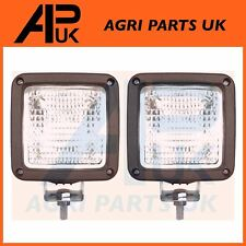 2X Forklift Work Lights Lamp Square Hyster Crown Toyota Yale Jungheinrich Nissan