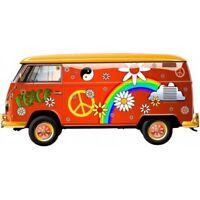 Van Hippie Peace and Love autocollant sticker adhesif