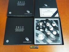 2012 W PROOF SILVER EAGLE LIMITED EDITION PROOF SET IN OGP