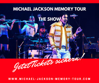 HAMBURG | 2 Tickets  |Michael Jackson Memory Tour -Show | Laeiszhalle in Hamburg