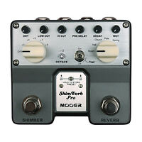 Mooer Twin Series Shim Verb Pro Digital Reverb Guitar Effects Pedal