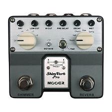 Mooer Shim Verb Pro Digital Reverb Pedal + Picks