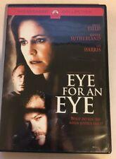 EYE FOR AN EYE rare Thriller dvd SALLY FIELD Kiefer Sutherland VG w/ Insert 1996