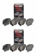 STOPTECH 2008-2014 LEXUS ISF IS F FRONT AND REAR SPORT BRAKE PADS SET F & R
