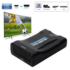 Hot HDMI to SCART Video Scaler Converter Audio Adapter for DVD Sky Ps3 Ah149