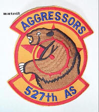 US. Air Force `527th AS` AGGRESSOR  Cloth Badge / Patch (AF4)
