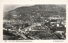 Vintage RPPC Real Photo Postcard Bilbao Punte Generalisimo L. Roisin Foto Spain