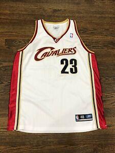 Reebok Lebron James Cleveland Cavaliers Authentic Jersey sz. 48 vtg