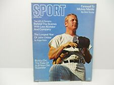 1969 April  Sport Magazine. Mickey Mantle Cover Ex. Cond.