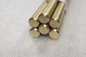 "6 C360 Brass Rod Bars 1/2"" x 12"" Free Machining 4 Lathe Live Steam WR9bA2-3"