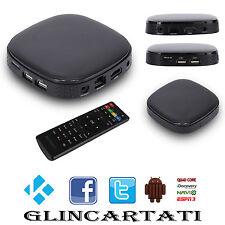 Android Tv Box Quad Core Wifi Internet Smart TV FULL HD 1080P 4GB ROM AT758
