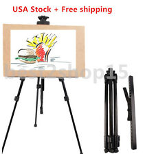 Tripod Easel Display Stand Art Artist Sketch Painting Exhibition Collapsible USA