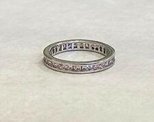 Rings - Sterling Silver - Cubic Zirconia - Light Pink - Australian Seller