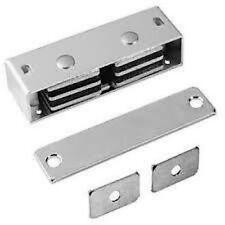 New Rockwood 901 Heavy Duty Commercial Magnetic Catch Aluminum