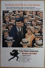 GOODBYE, MR.CHIPS (1969) - original US 1 Sheet film/movie poster, Peter O'Toole