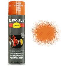 X9 très haute recouvrement Rust-Oleum orange fluorescent Peinture aérosol