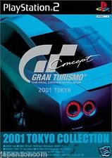 Used PS2  Gran Turismo Concept: 2001 Tokyo GT SONY PLAYSTATION JAPAN IMPORT