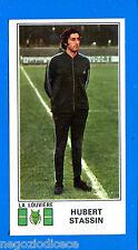 FOOTBALL 1976 BELGIO -Panini Figurina-Sticker n. 186 - STASSIN -LA LOUVIERE-Rec
