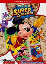 Disney Junior Comic Hero Mickey Mouse Clubhouse Super Adventure Kids Movie DVD