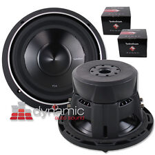 "Two (2) Rockford Fosgate P3D4-10 Car Audio 10"" Subwoofers 2,000W P3D410 Subs New"