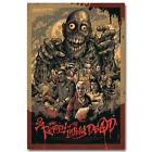 Return Of Living Dead Horror Movie Art Silk 12x18 24x36 inch 002