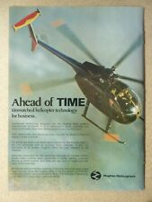 1/1979 PUB HUGHES HELICOPTERS HUGHES 500D HUBSCHRAUBER HELICOPTERE ORIGINAL AD