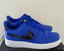 Nike Air Force 1 Low Removable Swoosh Pack Blue (New) Mens Size 12