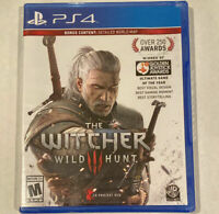 The Witcher 3: Wild Hunt PS4  (PlayStation 4, 2016) *Please read description