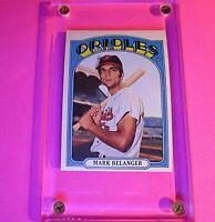 1972 Topps Baseball #456 Mark Bellinger Orioles NrMt NM