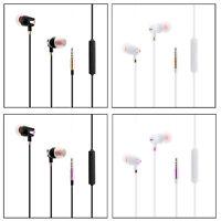 Earphones Headphones For iPhone 6s 6 5c 5S 5 SE iPad iPod Handsfree With Mic New
