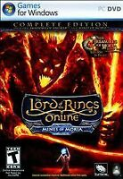 The Lord of the Rings Online Mines of Moria Complete PC DVD Games For Windows