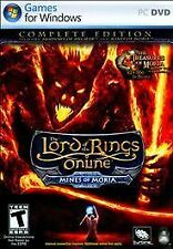 """Lord of the Rings Online: Mines of Moria (PC DVD 2008) """"The Complete Edition"""""""