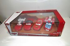 DISNEY PIXAR CARS 4-PACK LIGHTNING MCQUEEN MATADOR, BURNT, DAREDEVIL & AUTONAUT