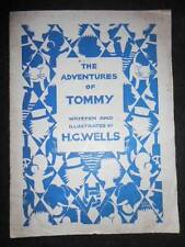 H G WELLS; The Adventures of Tommy (1928-1st) Limited/Numbered Edition De Luxe