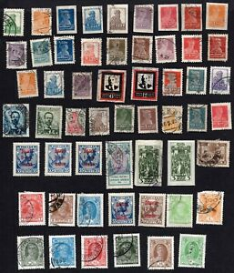 Russia 1923-28 Group of stamps MH,MNG,Used