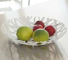 Yamazaki TOWER FRUIT BOWL Metal Nest WHITE Contemporary Design