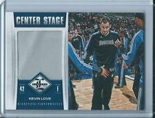 2012-13 Panini Limited Kevin Love Center Stage Game Worn Jersey /199