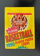 1990-91 Fleer Basketball Wax Pack Shawn Kemp RC on Top Possible Michael Jordan?