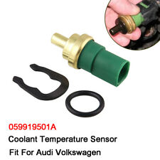 Fits For Audi VW Coolant Temperature Sensor Fan Switch W/ Oring OE#059 919 501A